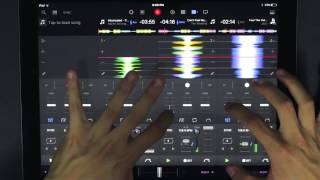 DJ Ravine Goes Pro On Djay Pro On The IPad Pro Mix