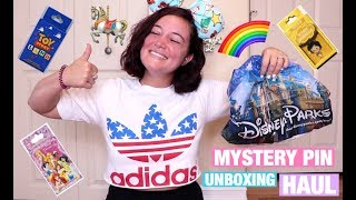 DISNEY MYSTERY PIN PACK UNBOXING HAUL #10