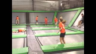 Camp Visit's Zip City Trampoline and Indoor Zip Line Park! Ohio(www.zipcityusa.com Trampoline Zip Lining Foam Pit Dodgeball Basketball Rockwall Game Room., 2014-09-30T13:50:19.000Z)