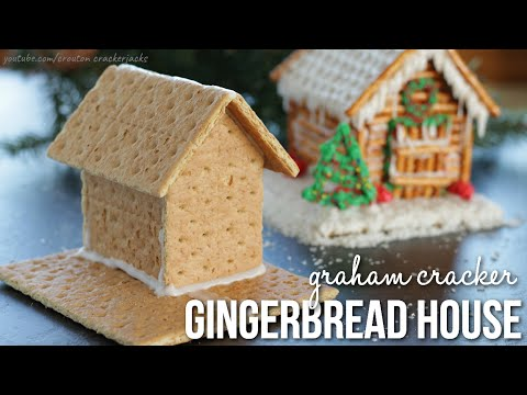 DIY: How To Make Graham Cracker Gingerbread Houses!!