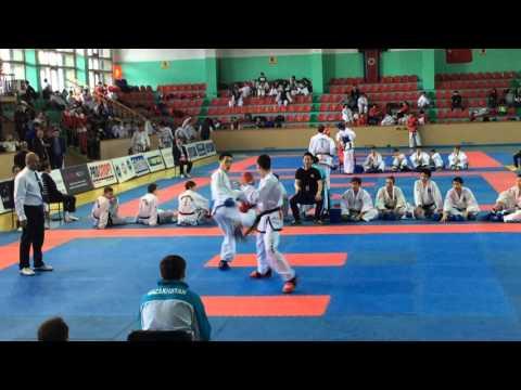 Team Sparring Male Kazakhstan VS Japan 2R 【8th Asian Taekwondo Championship 2016 at Almaty】