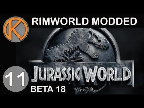 RimWorld Beta 18 Modded | LAND CLAIM - Ep. 11 | Let's Play RimWorld Beta 18 Gameplay