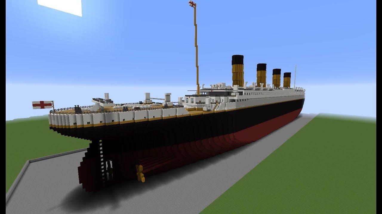 minecraft titanic