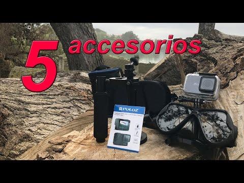 5 accesorios para cámaras de acción que me he comprado