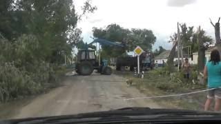 Ураган в селе Золотарёвка 30.06.16