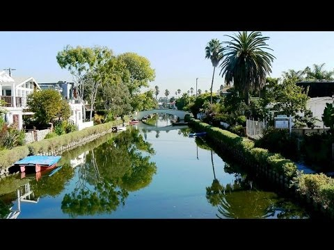 Amerika 21 - Los Angeles 6 - Little Venice - Santa Monica - FOX Groepsreis - The End / 2007