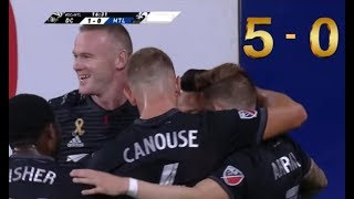 Best Game of Wayne Rooney & Luciano Acosta with D.C. United