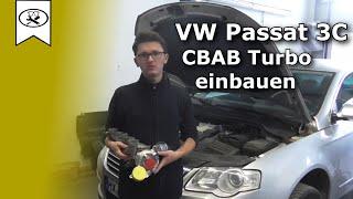 VW 2.0 Passat 3C CBAB Turbolader wechseln [Einbau] | Change turbocharger | VitjaWolf |  Tutorial
