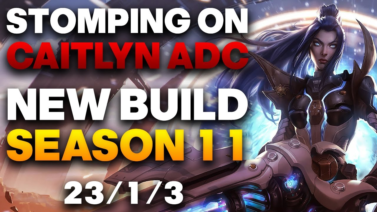 Caitlyn Build Guide Vapora Dark In Depth Adc Caitlyn Guide Season 11 League Of Legends Strategy Builds