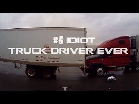 #5 IDIOT Truck Driver Ever - Bad Truck Stop Parking Compilation