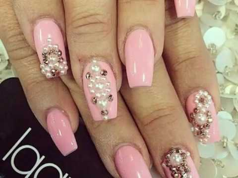 Uñas Color Rosa