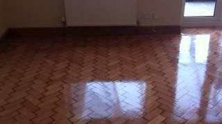 vuclip Pitch Pine Parquet Floor Sanding Job in Rhyl,North Wales Video clip 2