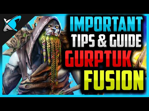 IMPORTANT Fusion Tips & Guide | Gurptuk Moss-Beard | RAID: Shadow Legends