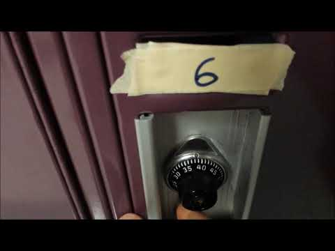 Opening Your Locker at Grantsburg Middle School (GMS)