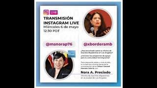 Conversaciones con Nora Preciado: 6 de mayo, 2020