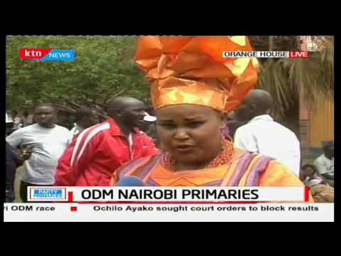 ODM supporters and aspirants express mixed reactions on the Nairobi primaries cancellation