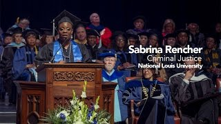 Repeat youtube video Commencement 2015 | Sabrina Rencher | Student Reflection