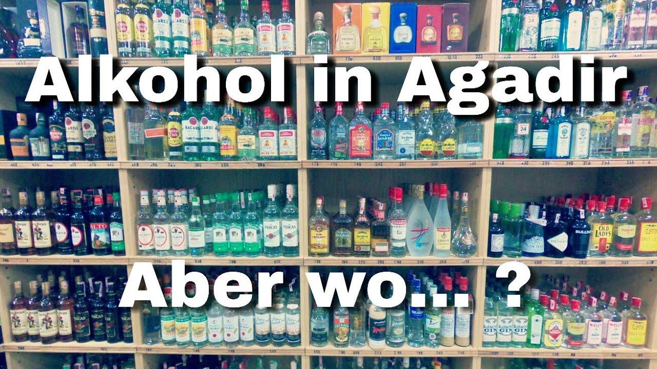 Alkohol in Agadir kaufen - Auf Zum Liquor Store Uniprix - YouTube