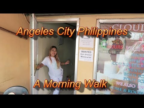 Angeles City Philippines : A Morning Walk