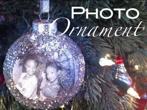 How to make a photo ornament Christmas holiday gift | Nik Scott