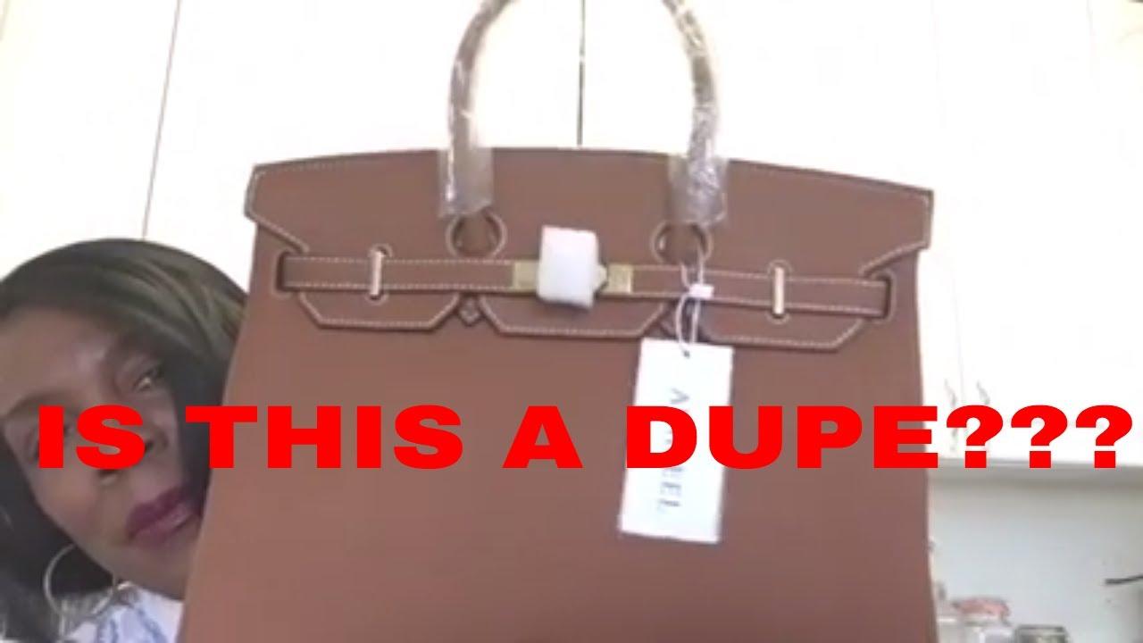 Ainifeel Handbag Birkin Inspired  What Do You Think - YouTube bf28e125b9f5b