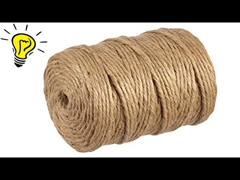 3 Amazing Ideas from Jute Jute Rope Craft Ideas