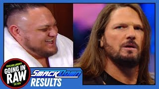 Will AJ vs Joe Live Up To The Hype? WWE Smackdown 8/7/18 Review & Results! Going In Raw Podcast