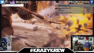 {GOD OF WAR} dJ KraZy (CHICAGO) #KraZyKREW -- KraZy Productions - MOBILE Live Stream