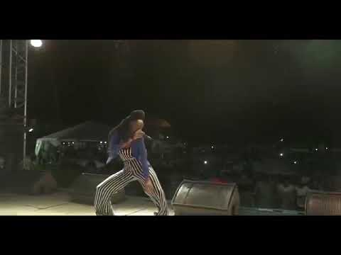 """Kisha performing TPM """"The People Man"""" live at Saint Lucia 39 years of Independence concert"""