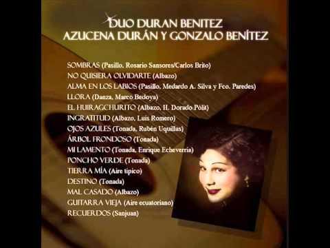 Azucena Durán Promesas Pasacalle