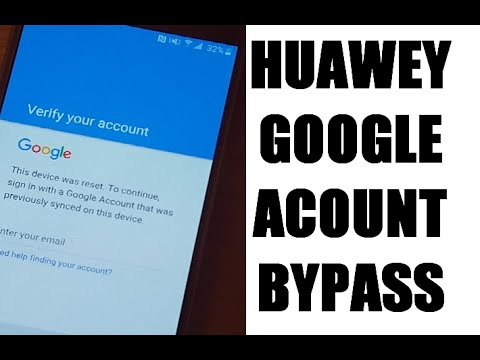 how to remove Huawei (2016 frp) google account bypass new method 100%  working