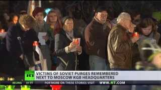 Moscow remembers victims of Stalin's repressions