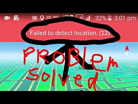 How To Solve Problem Of Pokemon Go Game || Failed To Detect Location (12) || Problem Fixed
