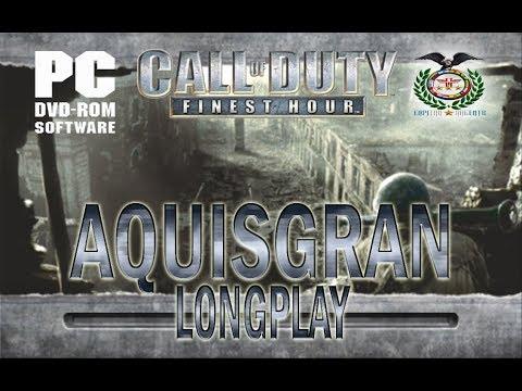 Call of Duty Finest Hour Aquisgran longplay Español PCSX2 1.4.0 full HD 1080p