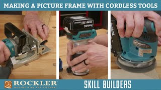 How to Make a Picture Frame Using only Cordless Tools