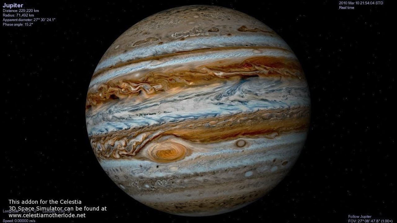 Real Pictures Of Jupiter The Planet Jupiter durch mein Cel...