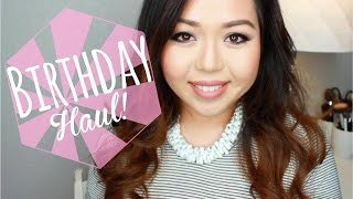 Birthday Haul ♡ MAC, Alexander Wang, Diamonds, Uggs, and More! Thumbnail