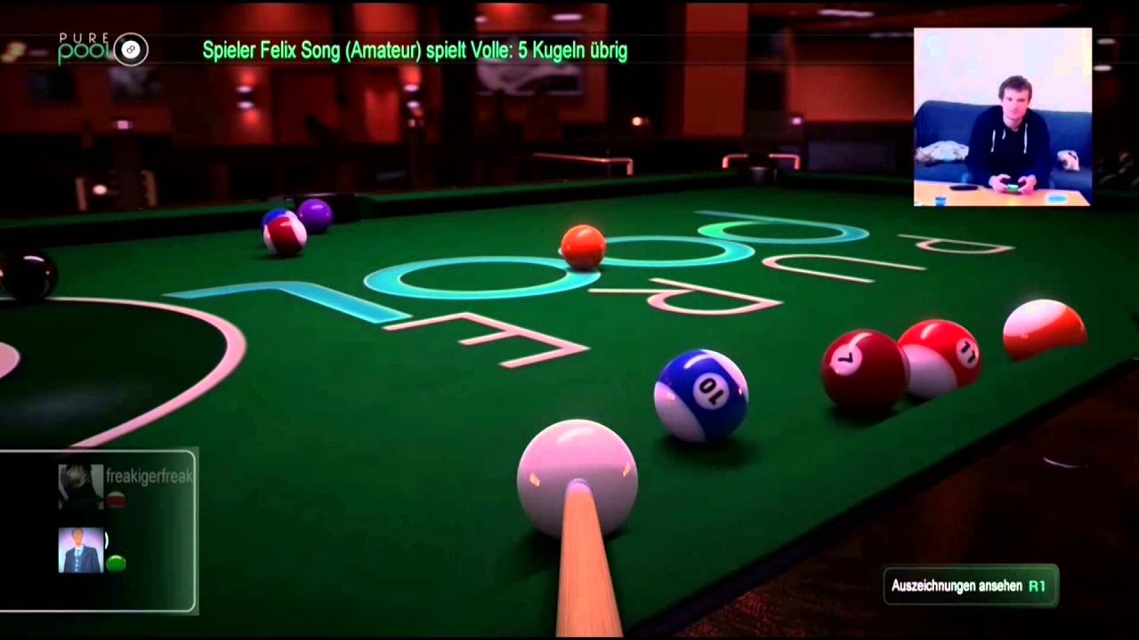 Billard Pool Spiel