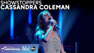 Barefoot Diva Cassandra Coleman Performs A Song By Aurora - American Idol 2021