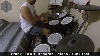 Disco-Funk - Shake Your Body (Down To The Ground) by The Jacksons (Drum Cover)