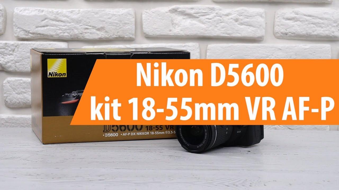 Nikon D5600 Kit 18 55mm Vr Af P Unboxing