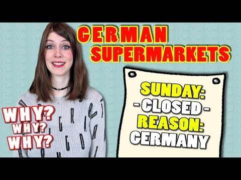 Why Is EVERYTHING In Germany CLOSED ON SUNDAY ?!