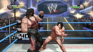 "WWE All Stars Fantasy Warfare Gameplay #012 Jimmy ""Superfly"" Snuka vs. (Masked) Kane"