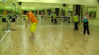 Cha Cha Slide - Mr C Line Dancing / Warmup Zumba Fitness w/ Bradley -  New