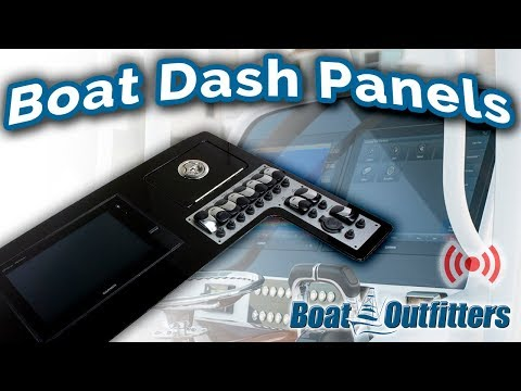 Boat Dash Panels | Upgrade Your Dash And Electronics