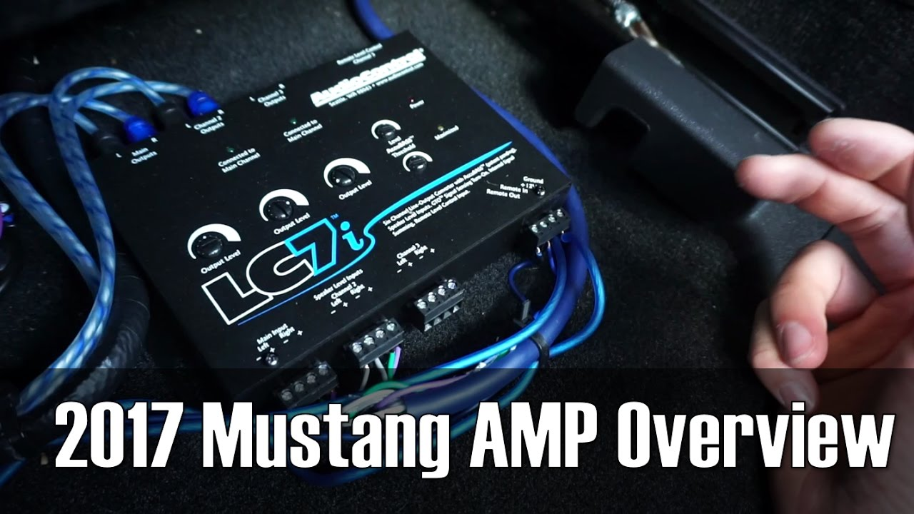 2017 Mustang AMP Setup/ Overview on