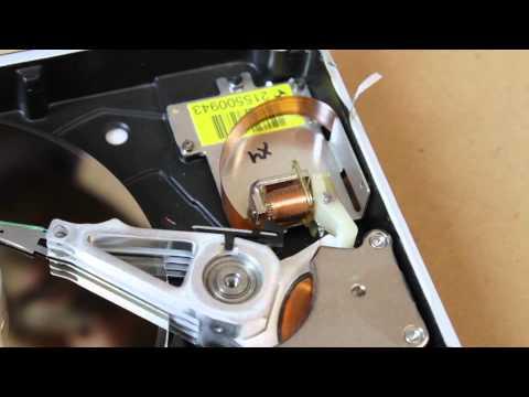 Hard Disk Drive Head Parking