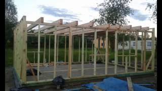 Zrób to Sam #3--Domek z drewna 35m