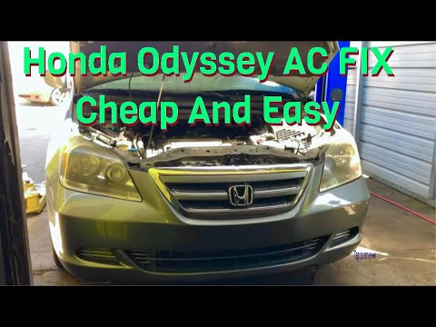 2006 Honda Odyssey AC not working (fix) *this may or may not work for some people*