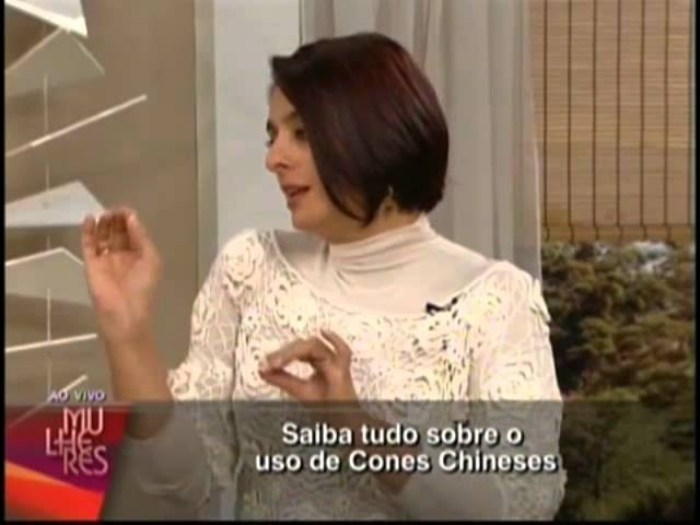 Cones Chineses - Susi Kelly no Programa Mulheres - TV Gazeta